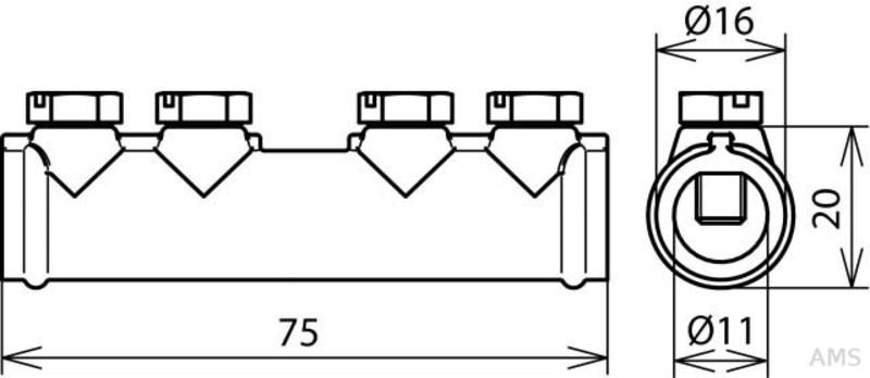 P80 Ser1960 70 x 125 mm SIA Streifen siafast Streifen