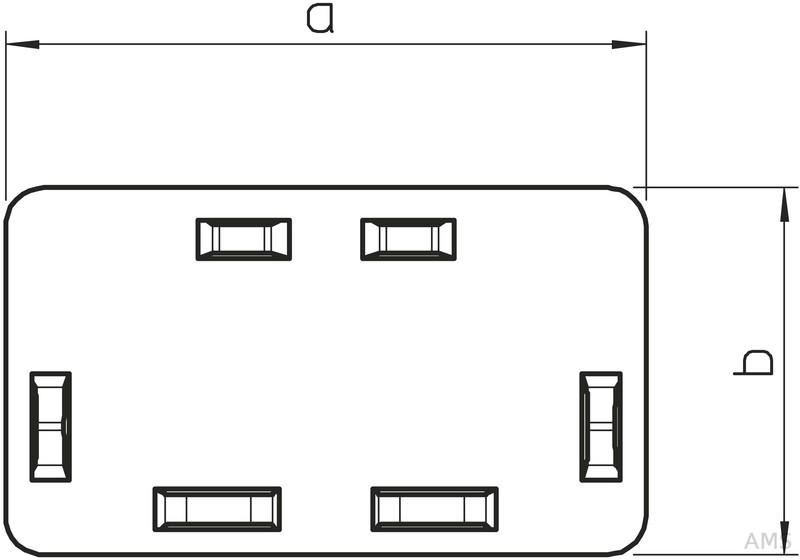 obo bettermann endst ck 40x60mm wdk he40060rw. Black Bedroom Furniture Sets. Home Design Ideas