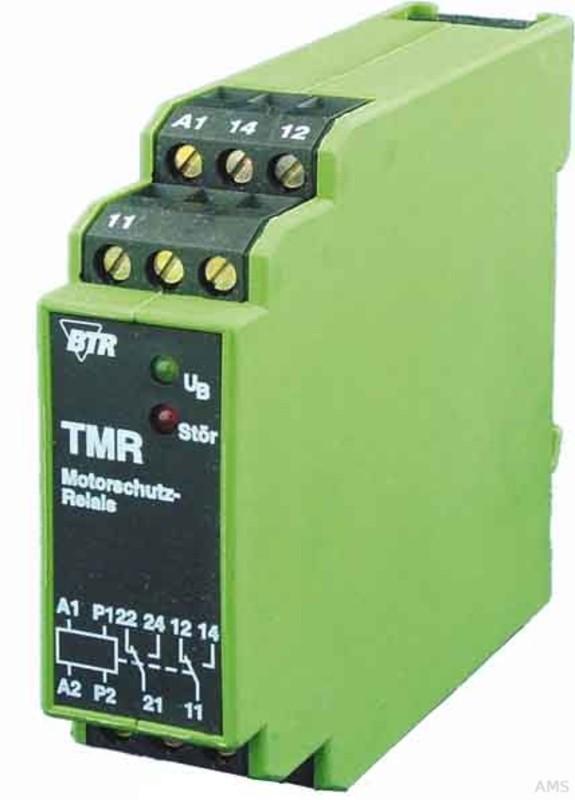 BTR Netcom Motorschutzrelais o. Fehlerspeicher TMR-E12 oFS 1W 230AC