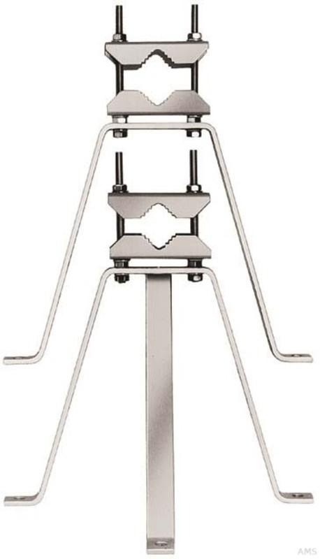 Triax GH50 Mauerhalterung,2-tlg,50cm