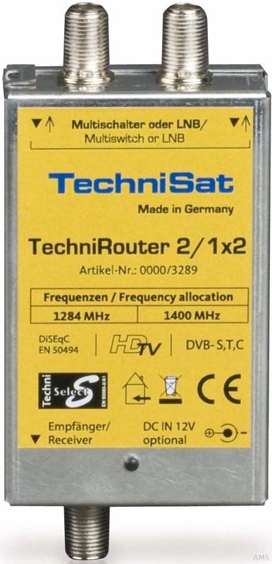 TechniSat Router Mini 2/1x2 TECHNIROUTERMINI2