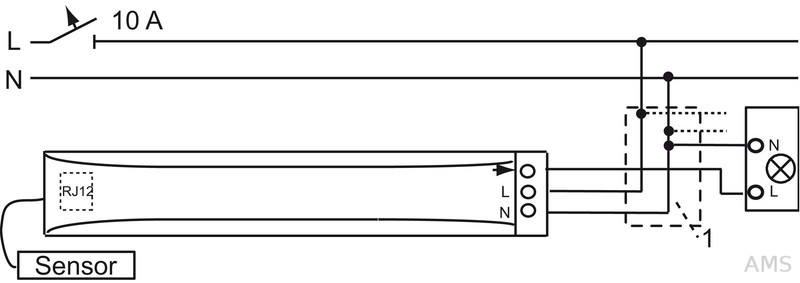 busch jaeger w chter pr senz tech basicline mini alpws 6811 eb. Black Bedroom Furniture Sets. Home Design Ideas