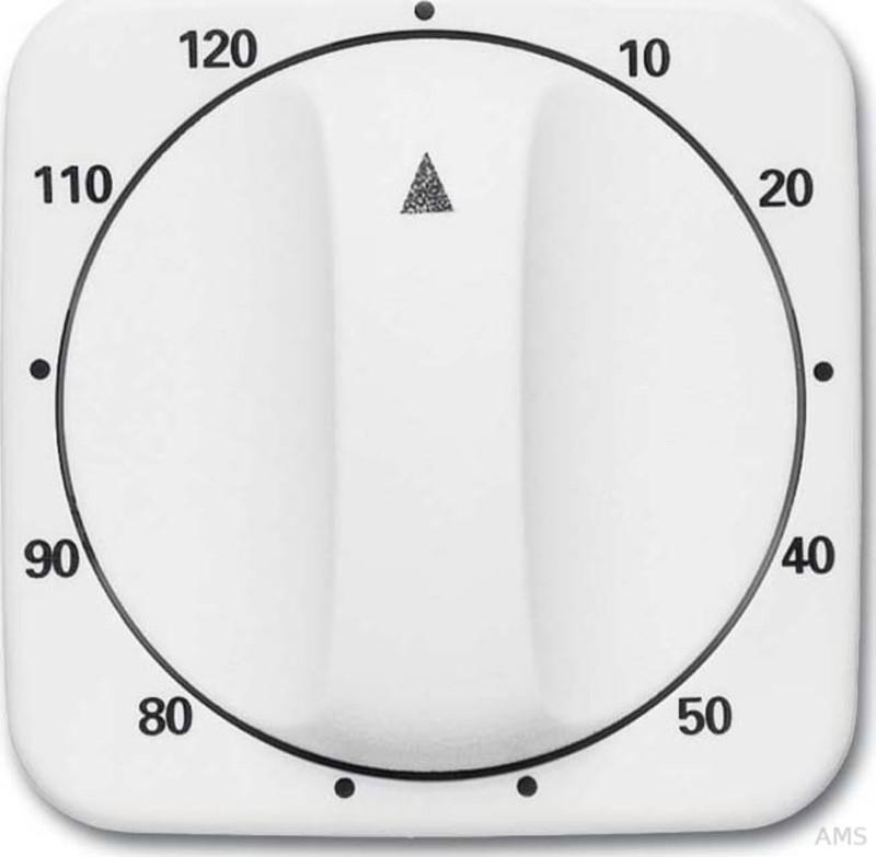 Busch-Jaeger Abdeckung Zeitschaltuhr 120 Min,alpinweiß 1771-214-103