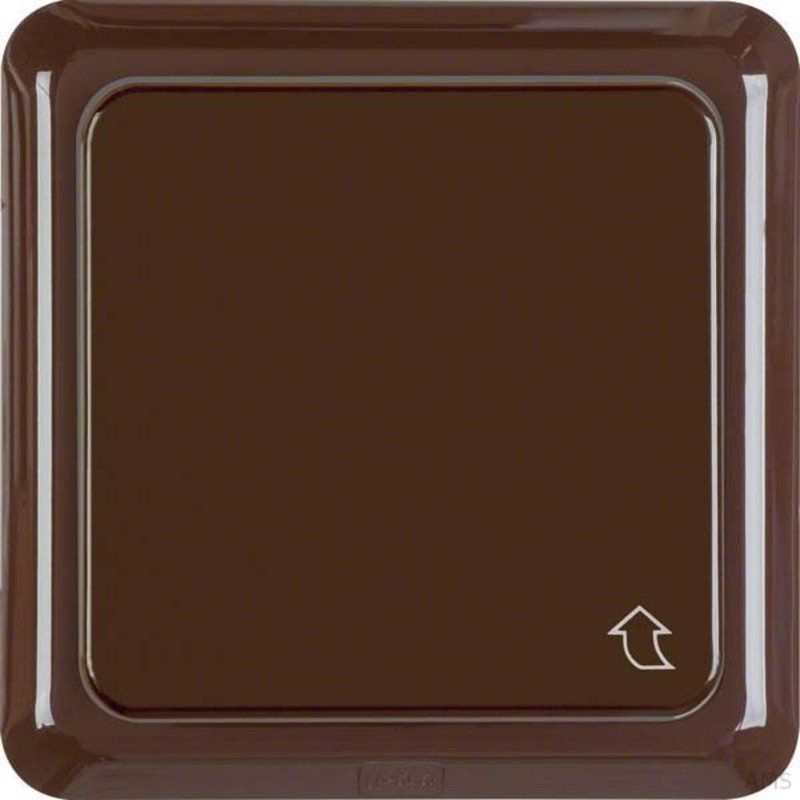 berker steckdose braun mit klappdeckel 471801. Black Bedroom Furniture Sets. Home Design Ideas