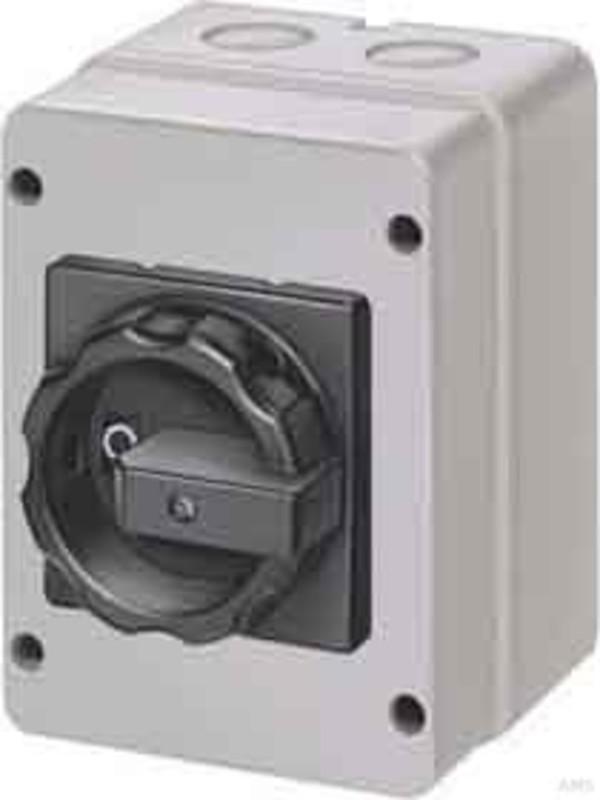 Siemens Haupt-//Not-Aus-Schalter 3p 16A 7,5kW//400V 3LD2003-0TK53
