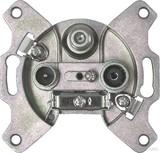 Astro Antennensteckdose 3-Loch Durchgangsdo. GUT 312