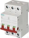Siemens Ausschalter 63A,3pol.,rot 5TL1363-1
