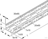 Niedax Verteilerrinne sendzimirverzinkt RSV 50.100 (3 Meter)