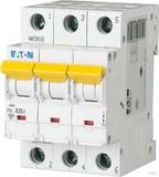 Eaton / Möller LS-Schalter mit Beschrift. B 25A, 3p PXL-B25/3