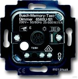 Busch-Jaeger Memo. Tastdimmer-Einsatz 20-500W/VA 6560 U-101
