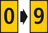 HellermannTyton Kennzeichnungsclip WIC1-0-9-PA-YE-T1 (200 Stück)