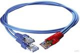 Homeway HW-Y-Kabel1 LAN/LAN 0,5m bl/bl HCAHNG-B2103-A005