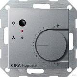 Gira 226526 Hygrostat System 55 Farbe Alu