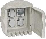 EVN Lichttechnik Energieverteiler Stein 3-fach mit Funkempf. 230 3FE3