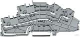 WAGO Installationsetagenklemme grau L/L 2003-6642