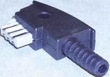 E+P Elektrik TAE-Stecker T 60