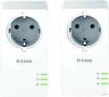 D-Link Schuko Powerline AV2 Kit 1000Mbit DHP-P601AV/E