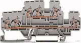 WAGO Doppelstockklemme 0,08-2,5/4mmq grau 870-531