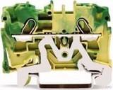 WAGO Schutzleiterklemme 4qmm,grün/gelb 2004-1207