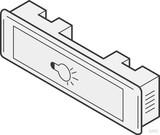 Renz Metallwaren Lichttaster LIRA 75x22 weiss 97-9-85111 ws