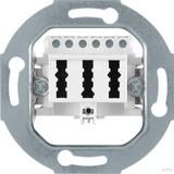 Berker TAE-Anschlußdose polarweiß (pws) mit Schraubklemmen 450009