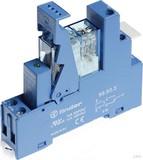 Finder Koppelrel.(3,5)24VDC 1W10A mit Fas.+LED+Freil. 49.31.9.024.0050