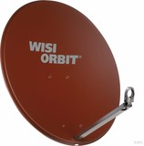 Wisi Offset-Antenne 80cm, rotbraun OA 38 I