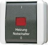 Jung Heizung-Notschalter Aus 2-polig 802 HW