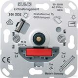 Jung Drehdimmer mit Druck-Wechselsch 266 GDE