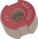 Mersen D-Schraub-Paßeinsatz D II, 10A rot 1657.01