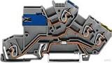 WAGO Etagenklemme 0,08-2,5/4mmq grau 775-641