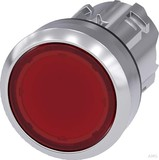 Siemens Drucktaster 22mm, rund, rot 3SU1051-0AB20-0AA0
