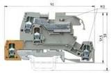 Wieland Installationsklemme WKI 4 NT-D-SL/V0