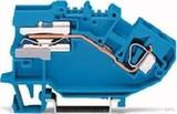 WAGO Trennklemme 0,2-6mmq blau 782-613