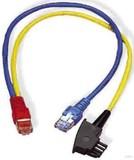 Homeway HW-Y-Kabel4 LAN/TAE 0,5m bl/ge HCAHNG-B2404-A005