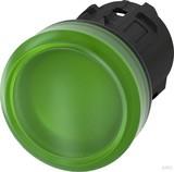 Siemens Leuchtmelder 22mm, rund, grün 3SU1001-6AA40-0AA0
