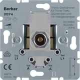 Berker Drehdimmer 20-525W/VA Tronic mit Softrastung 2874