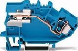 WAGO Trennklemme 0,2-10mmq blau 784-613