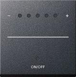Gira 226028 System2000 Aufsatz Touchdimmer System 55 Anthrazit