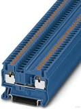 Phoenix Contact Durchgangsreihenklemme 0,14-4qmm, 5,2mm, blau PT 2,5 BU