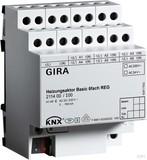 Gira Heizungsaktor 6-fach basic KNX REG 211400