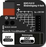 Busch-Jaeger Binäreingang 4-fach UP 6241/4.0 U