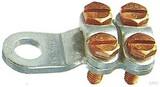 Klauke Klemmkabelschuh 35-50qmm 586R/10 bk