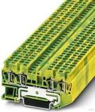Phoenix Contact Schutzleiterklemme 0,08-4qmm gn-ge ST 2,5-QUATTRO-PE