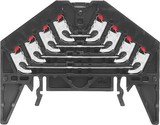 Weidmüller Durchgangsreihenklemme PRV 4 schwarz 35X7.5 WS