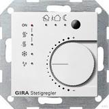 Gira 210003 KNX Stetigregler System 55 Reinweiß glänzend