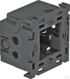 OBO Bettermann Geräteeinbaudose 1fach 71x76x51mm grau 71GD8-2
