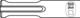 Bosch 1618601004  SDS-Plus Kanalmeißel