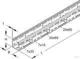 Niedax Verteilerrinne sendzimirverzinkt RSV 50.050 (3 Meter)