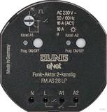 Jung Funk-Aktor 2-kanalig, UP FM AS 26 UP